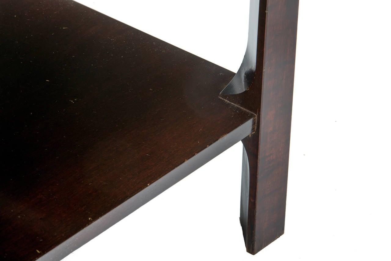 Paul Frankl Cork Top End Tables For Sale 1