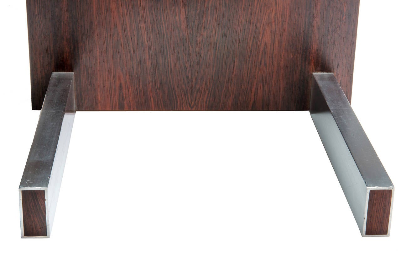 Rosewood and Glass Desk by Vladimir Kagan 6