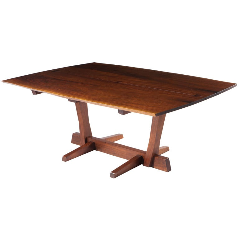 George Nakashima Conoid Dining Table 1