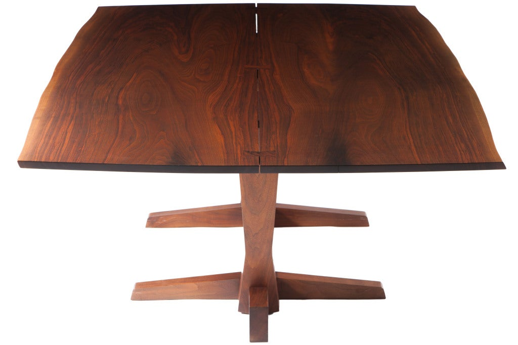 Nakashima Table george nakashima conoid dining table at 1stdibs