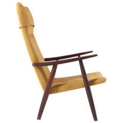 Hans Wegner High Back Lounge Chair