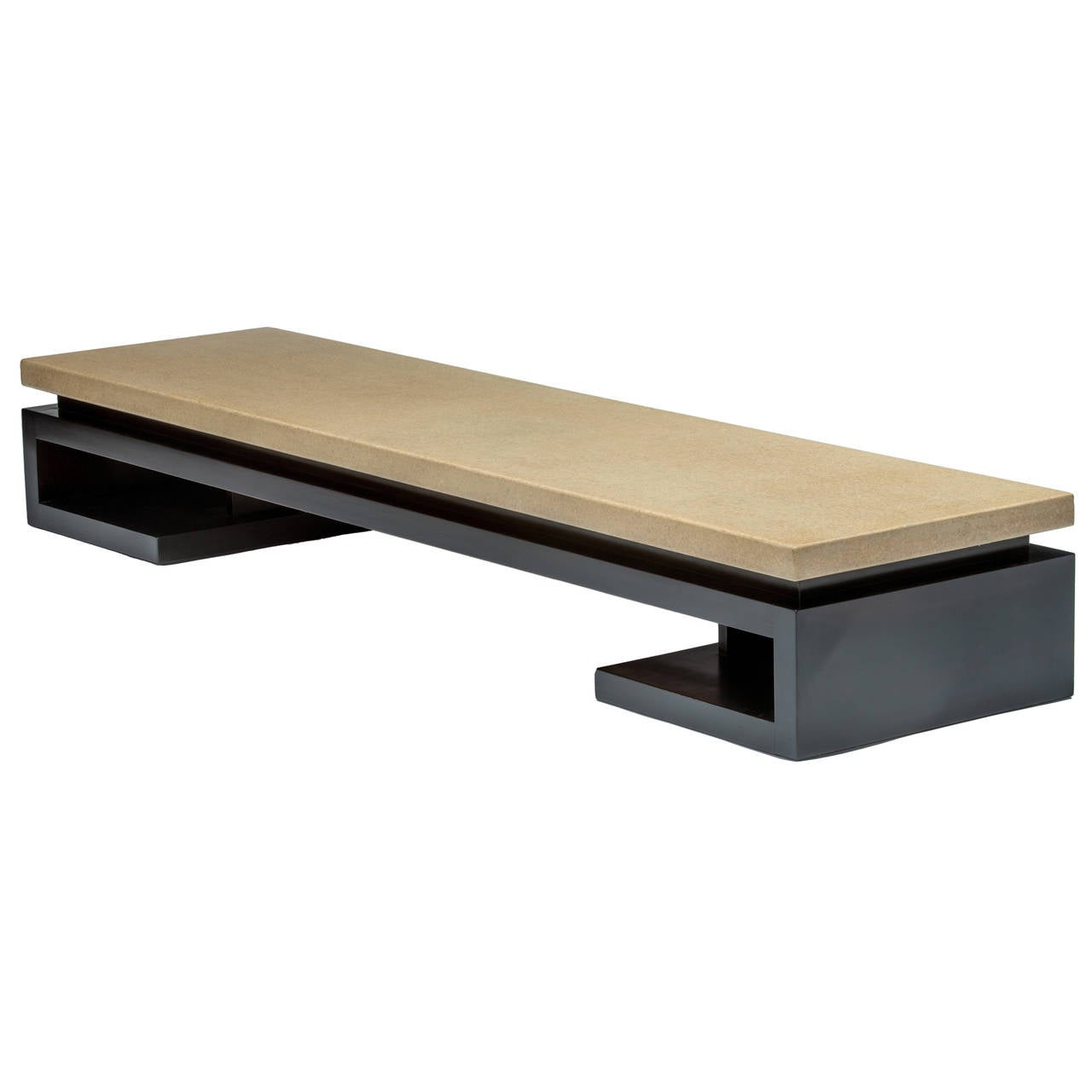 Paul frankl coffee table or bench at 1stdibs for Modern coffee table