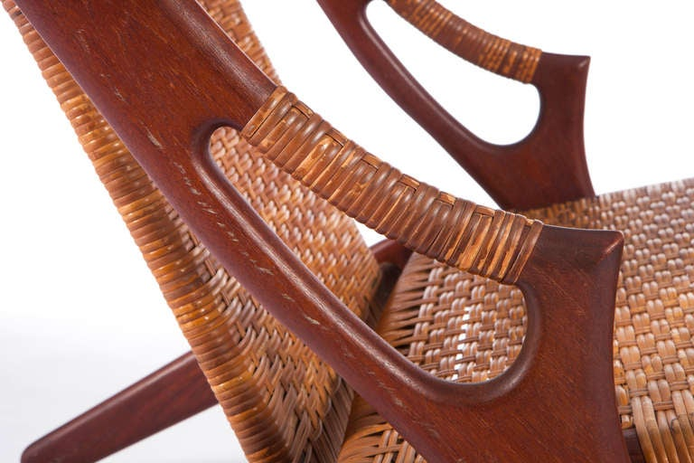 Danish Lounge Chair by A. Hovmand-Olsen For Sale