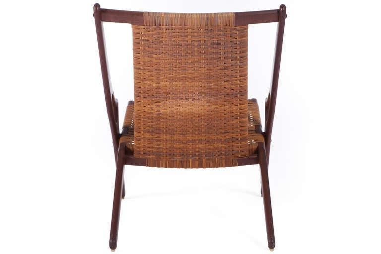Scandinavian Modern Lounge Chair by A. Hovmand-Olsen For Sale