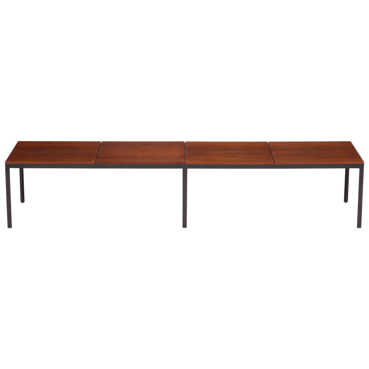 Iron Coffee Tables Knoll Angle Iron Coffee Table For Sale At 1stdibs