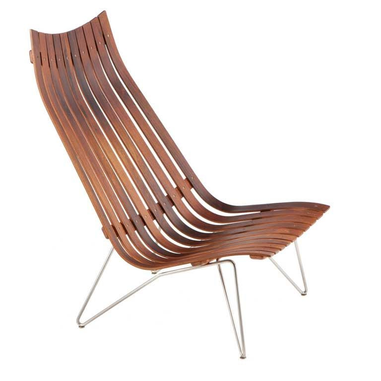 Hans Brattrud Rosewood Scandia Lounge Chair For Hove Mobler At 1s