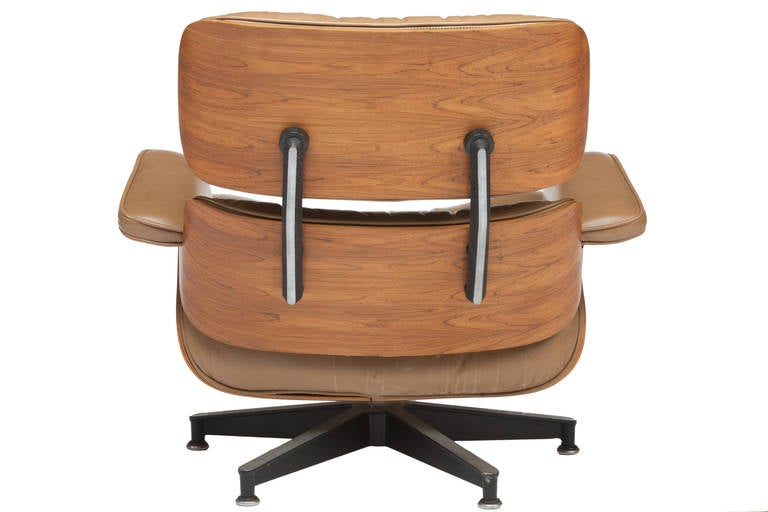 Eames 670 671 Rosewood Lounge Chair And Ottoman For
