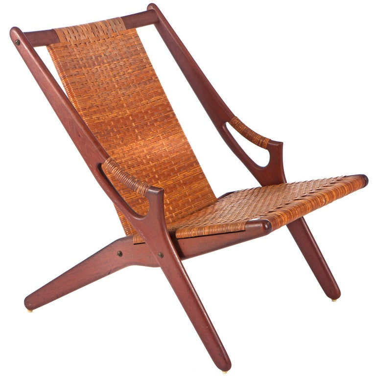 Lounge Chair by A. Hovmand-Olsen For Sale