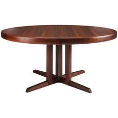 Large George Nakashima Rosewood Dining Table for Widdicomb