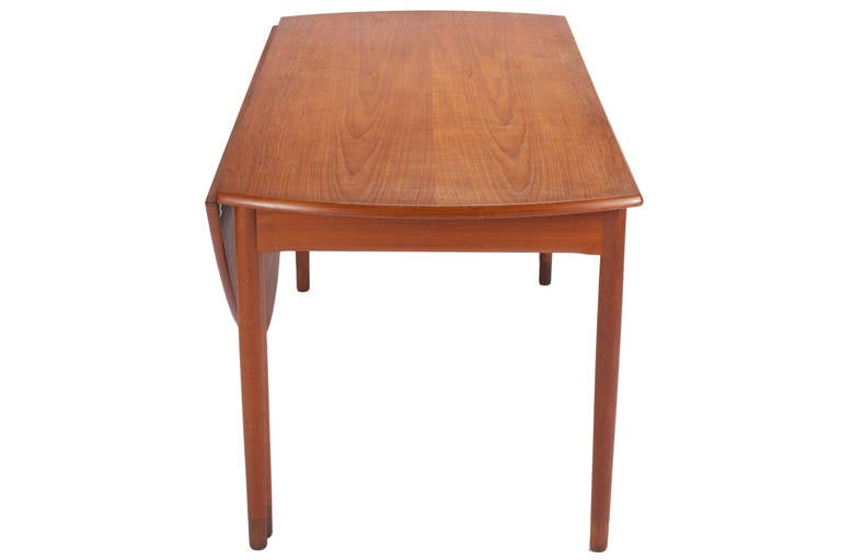 Danish Desk by A. Bender Madsen and Ejner Larsen for Willy Beck Cabinetmaker For Sale