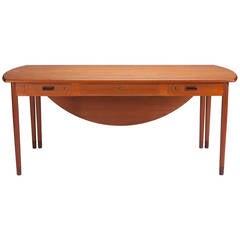 Desk by A. Bender Madsen and Ejner Larsen for Willy Beck Cabinetmaker