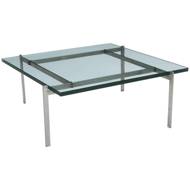 Coffee Table by Poul Kjaerholm PK 61, E. Kold Christensen, Denmark