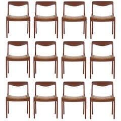 12 Danish Chairs Designed By Vilhelm Wohlert