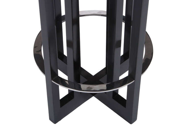 3 Richard Meier Stools For Knoll At 1stdibs