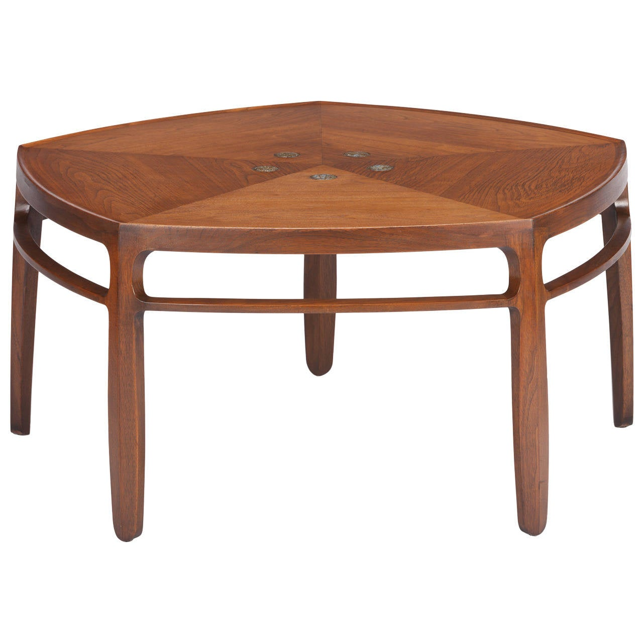 Edward Wormley Natzler Tiled Coffee Table For Dunbar At 1stdibs