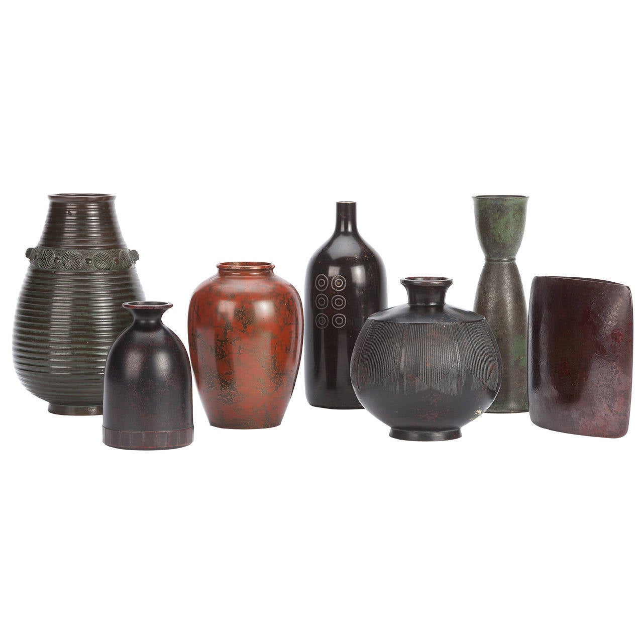 Collection of 20th century bronze modernist japanese vases for collection of 20th century bronze modernist japanese vases for sale reviewsmspy