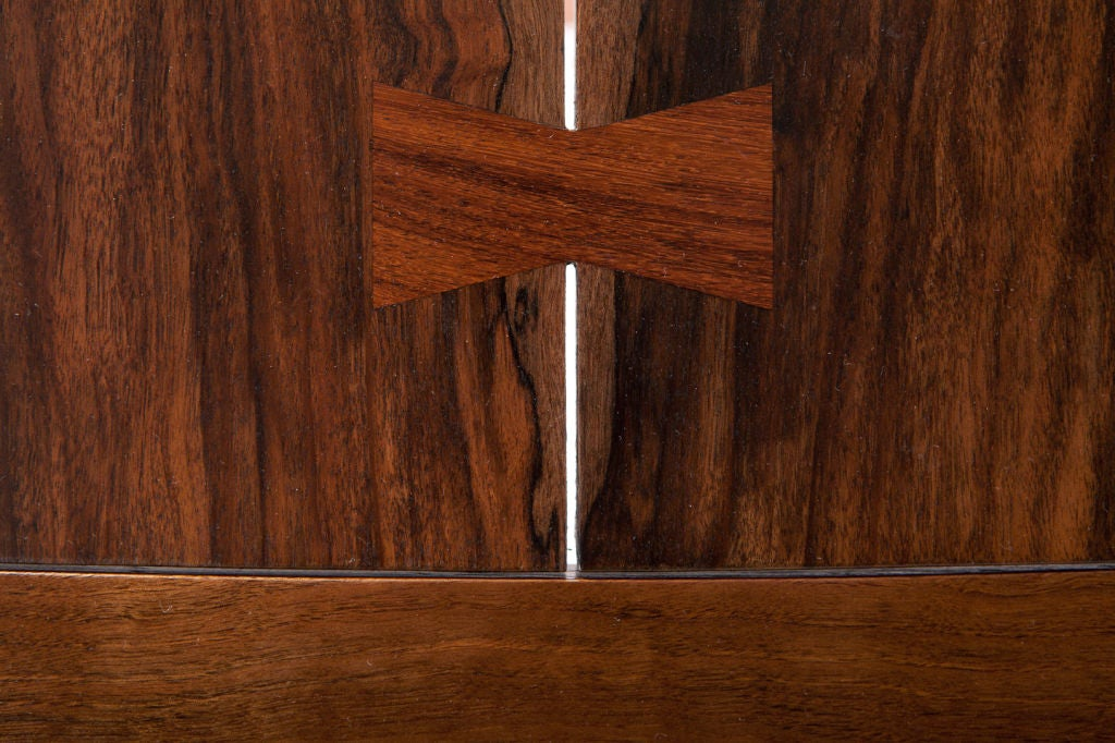 Rosewood George Nakashima Persian Walnut Conoid Dining Table For Sale