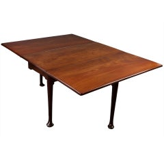 George II Mahogany Dining Table in the manner of Giles Grendy
