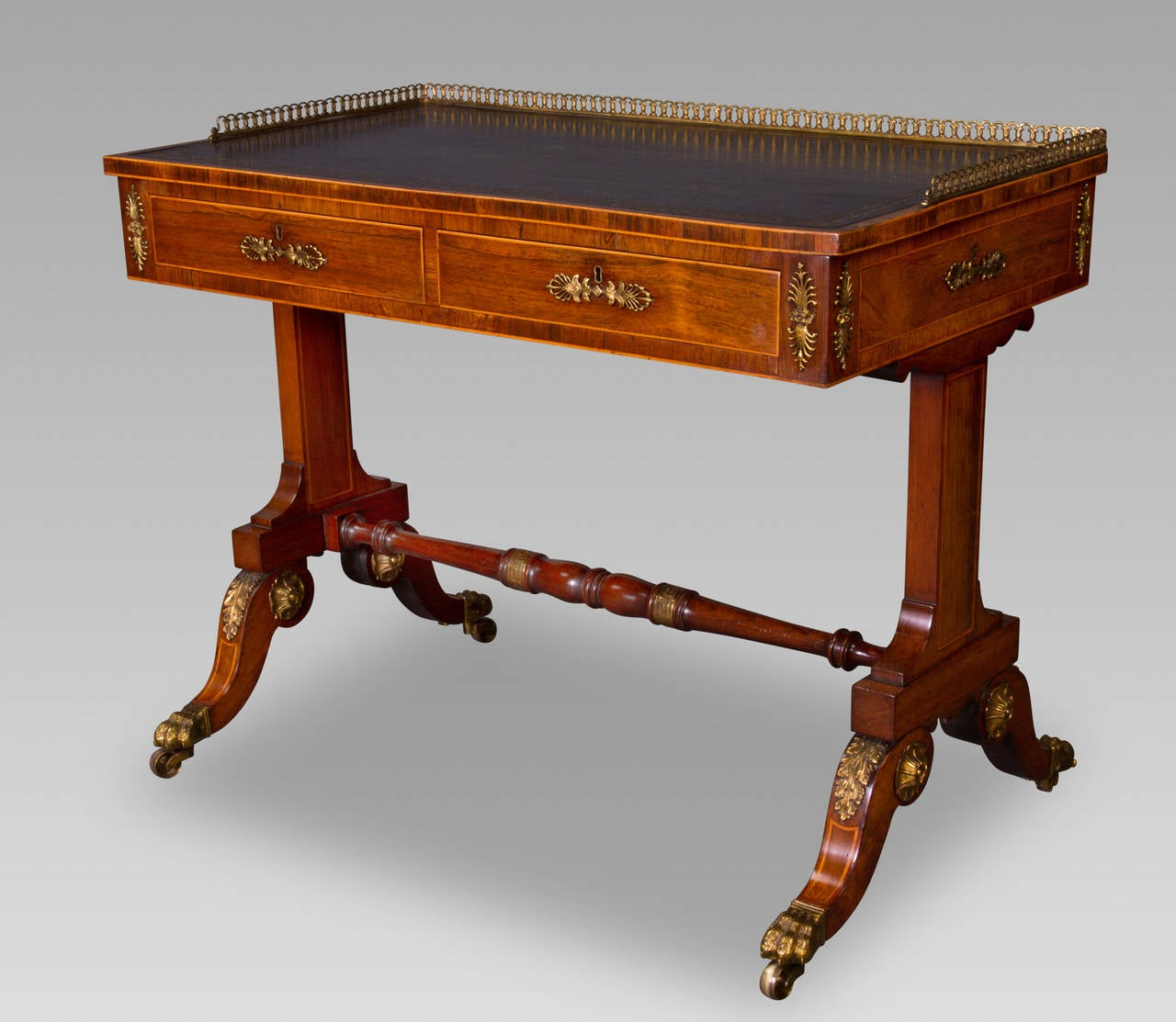 Fine Regency Writing Table Attributed to John Mclean 2