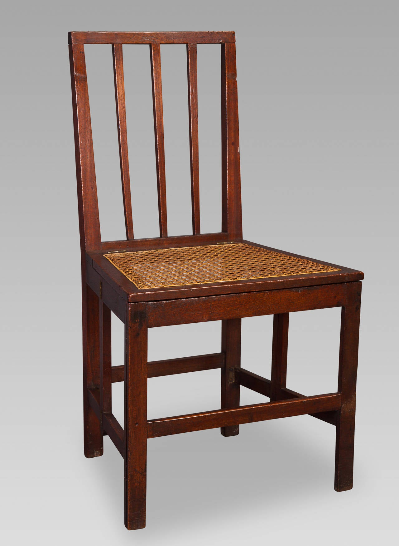 18th Century Mahogany Naval Campaign Chair For Sale At 1stdibs