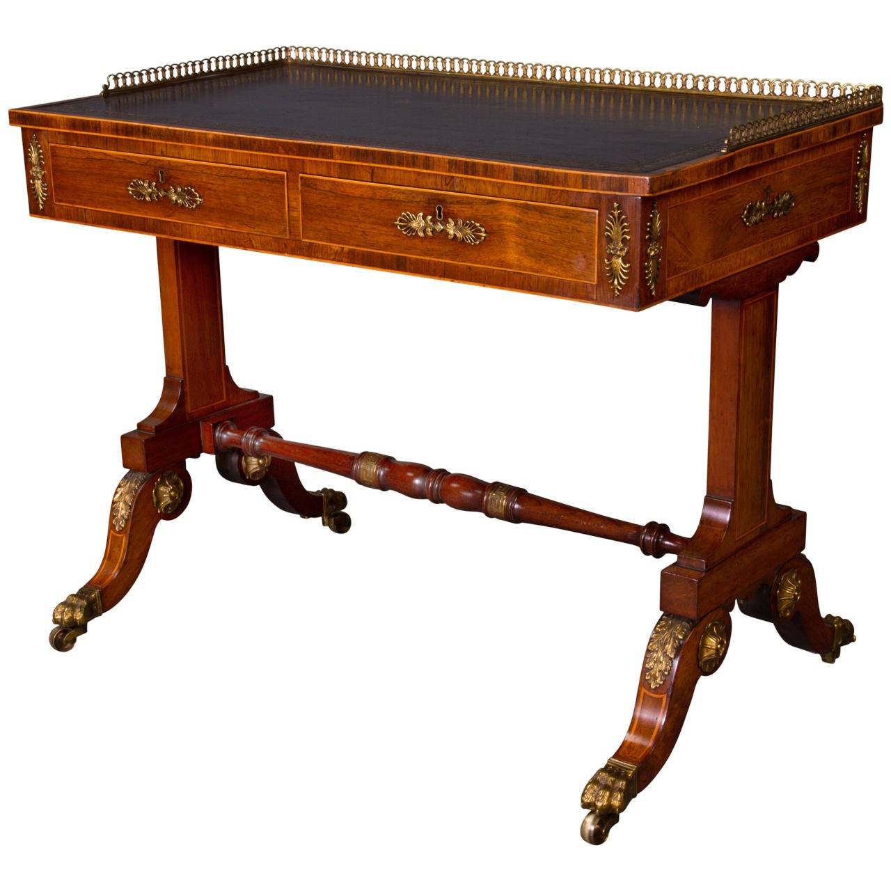 Fine Regency Writing Table Attributed to John Mclean 1