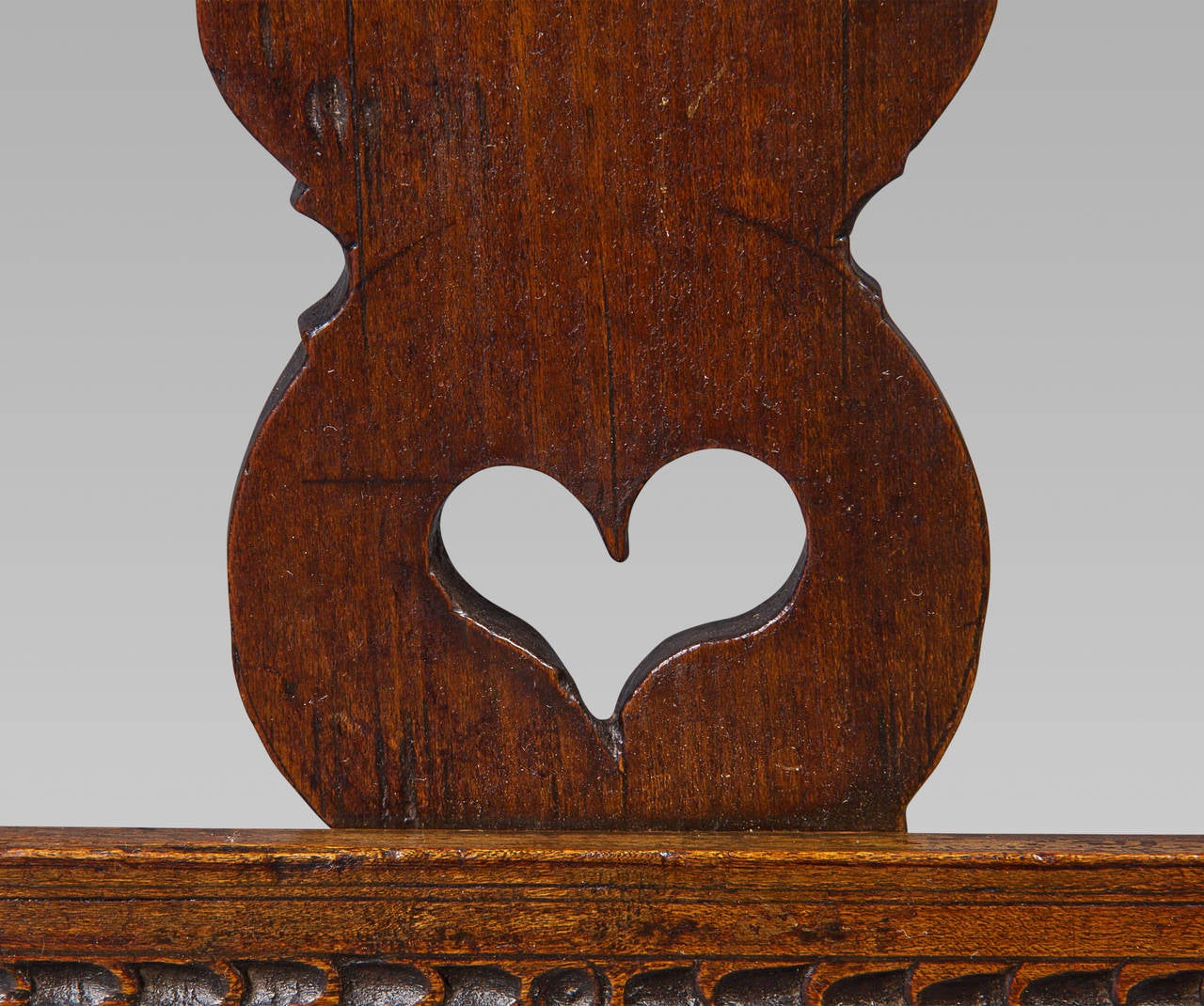 Country 18th Century Fruitwood Folding Adjustable Bookrest For Sale