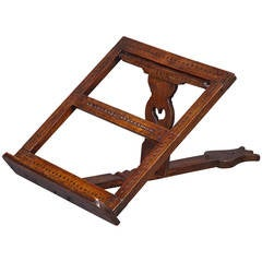 18th Century Fruitwood Folding Adjustable Bookrest
