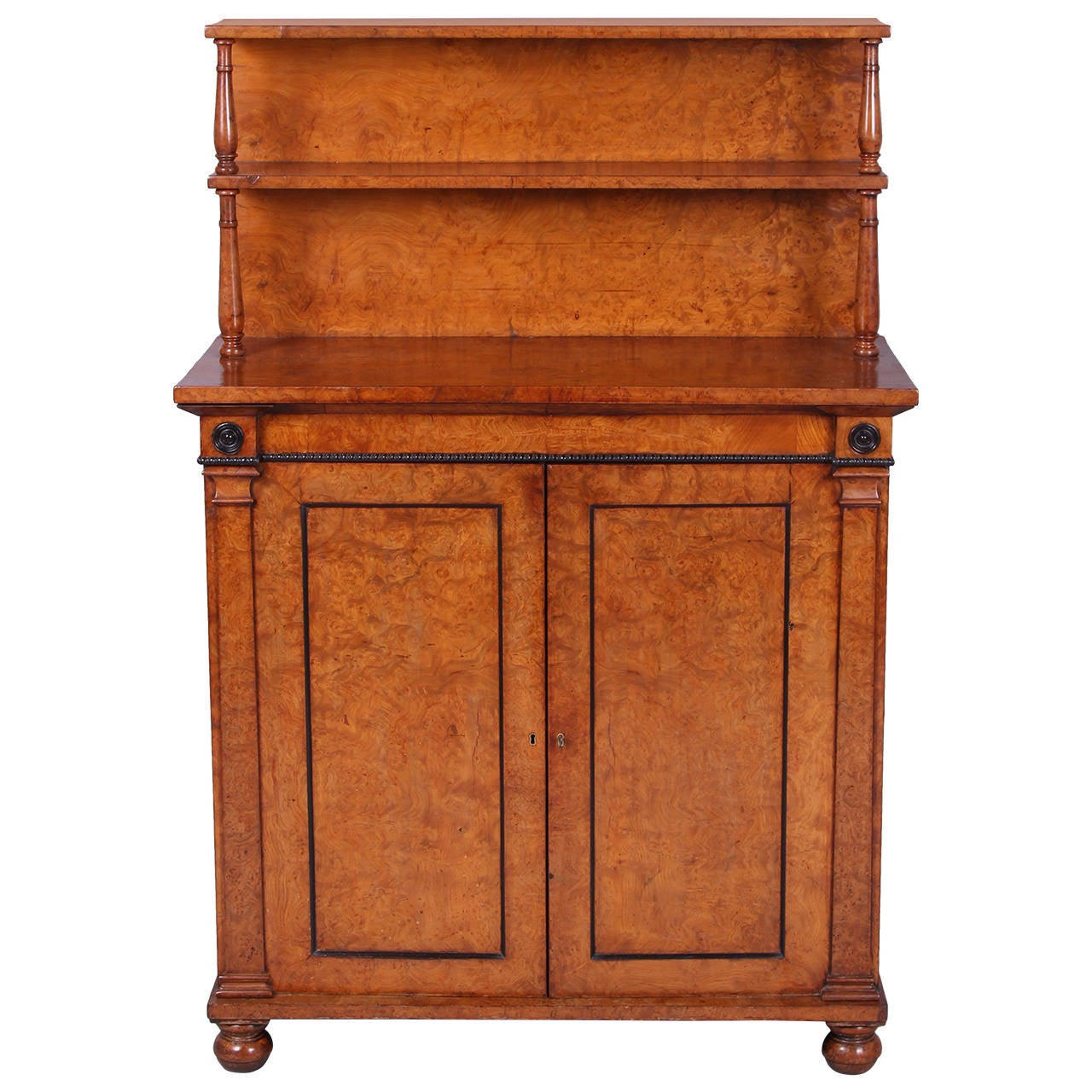 Superb Quality Regency Chiffonier Cabinet of Small Proportions For Sale