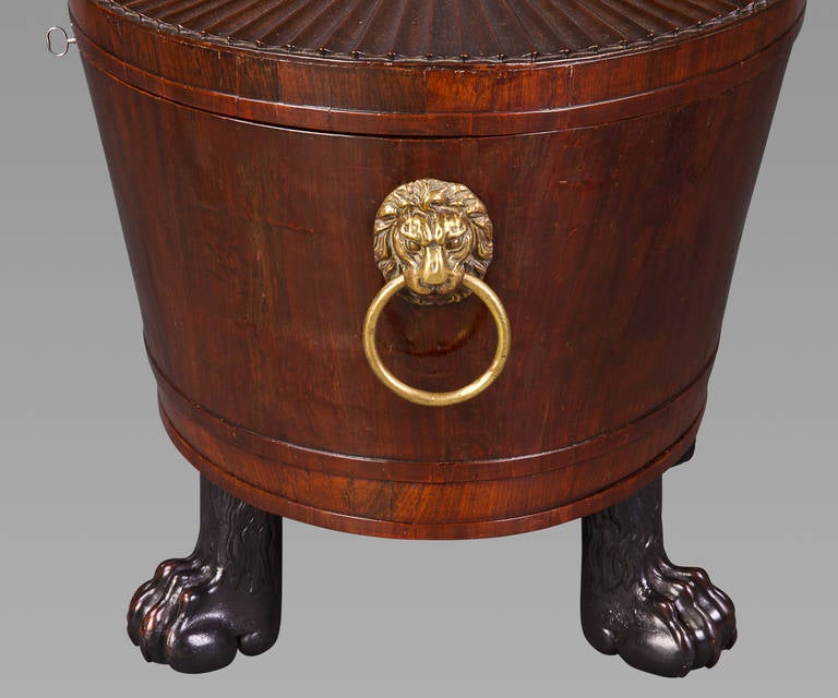 19th Century Good Regency Cellaret Attributed to Gillows For Sale