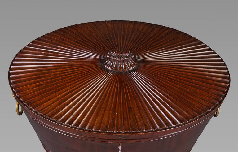 English Good Regency Cellaret Attributed to Gillows For Sale