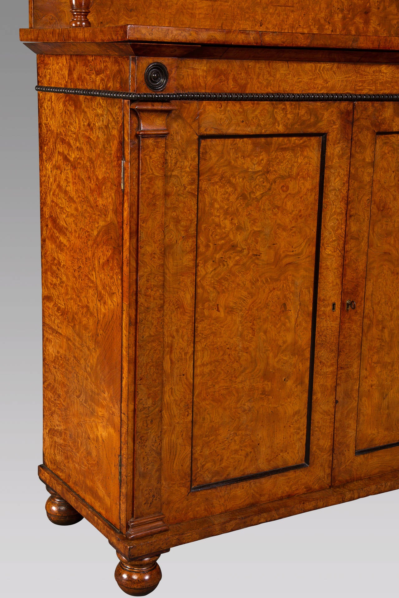 Scottish Superb Quality Regency Chiffonier Cabinet of Small Proportions For Sale