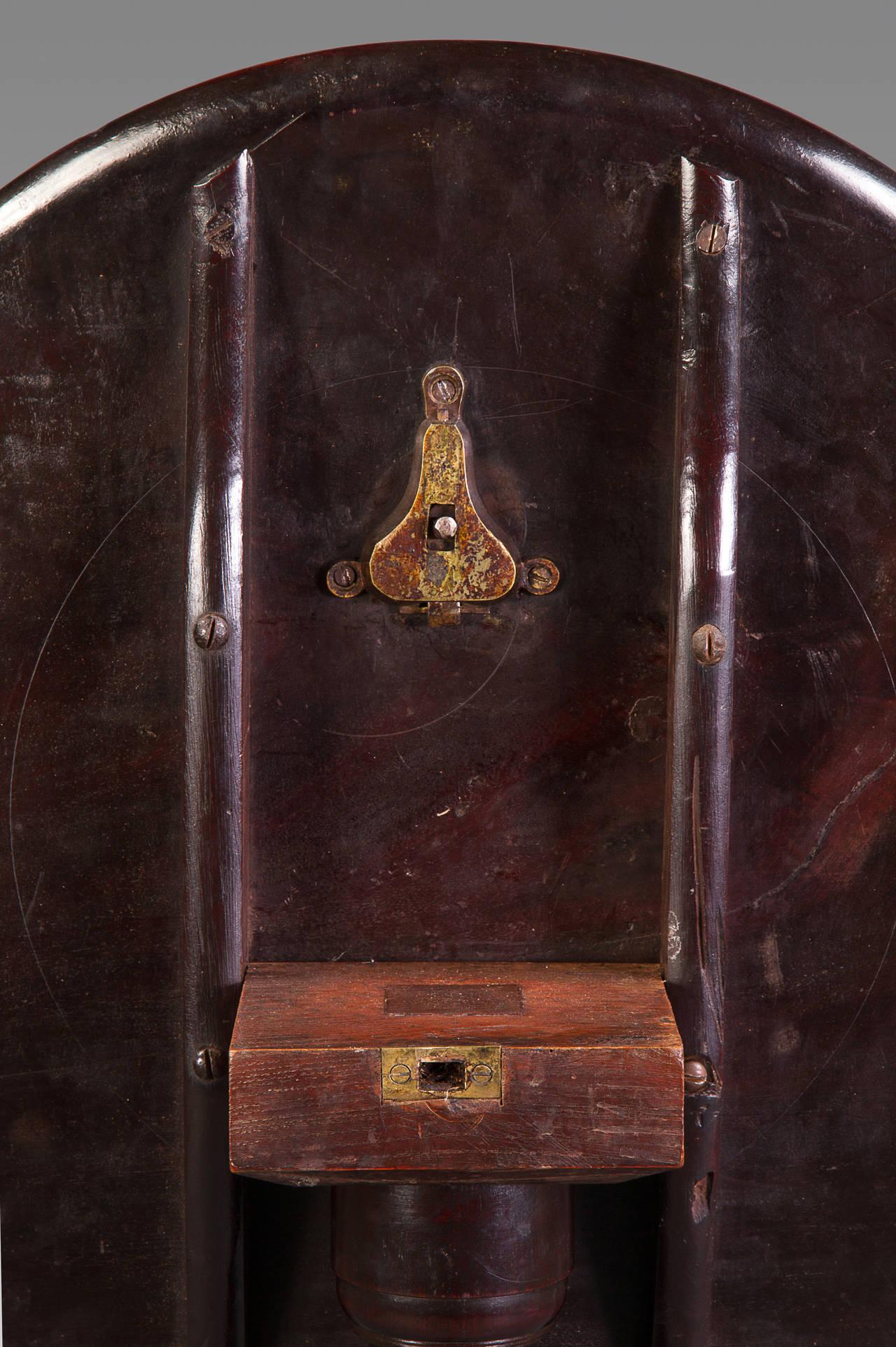 English Very Good George II Cuban Mahogany Tripod Side Table For Sale