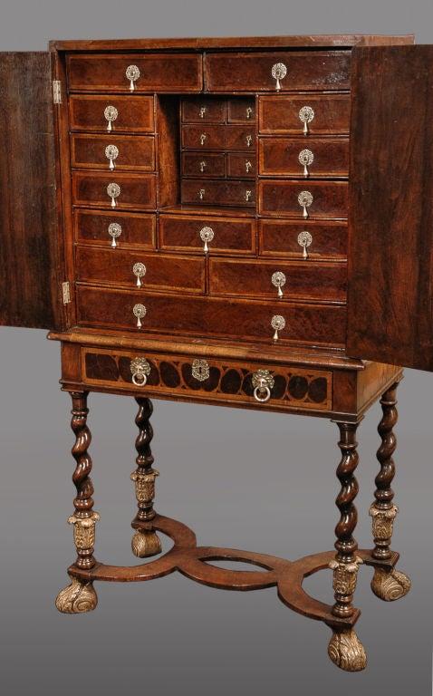 Charles Ii Lacewood Oyster Veneer Walnut And Fruitwood