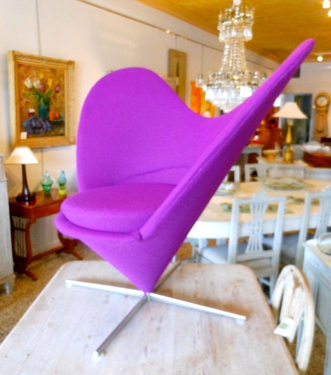Danish Design Verner Panton Heart Cone Chair 3