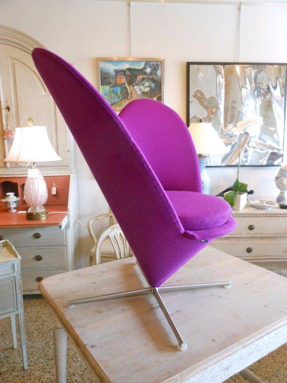 Danish Design Verner Panton Heart Cone Chair 4