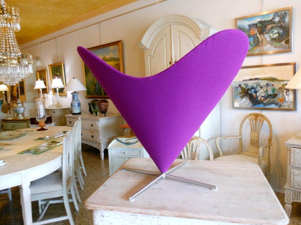 Danish Design Verner Panton Heart Cone Chair 5