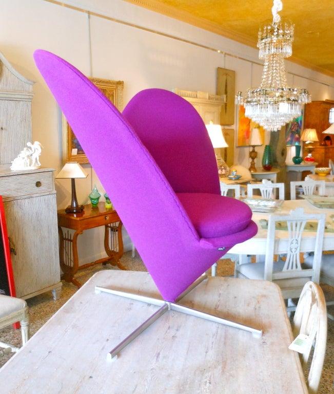 Danish Design Verner Panton Heart Cone Chair 6