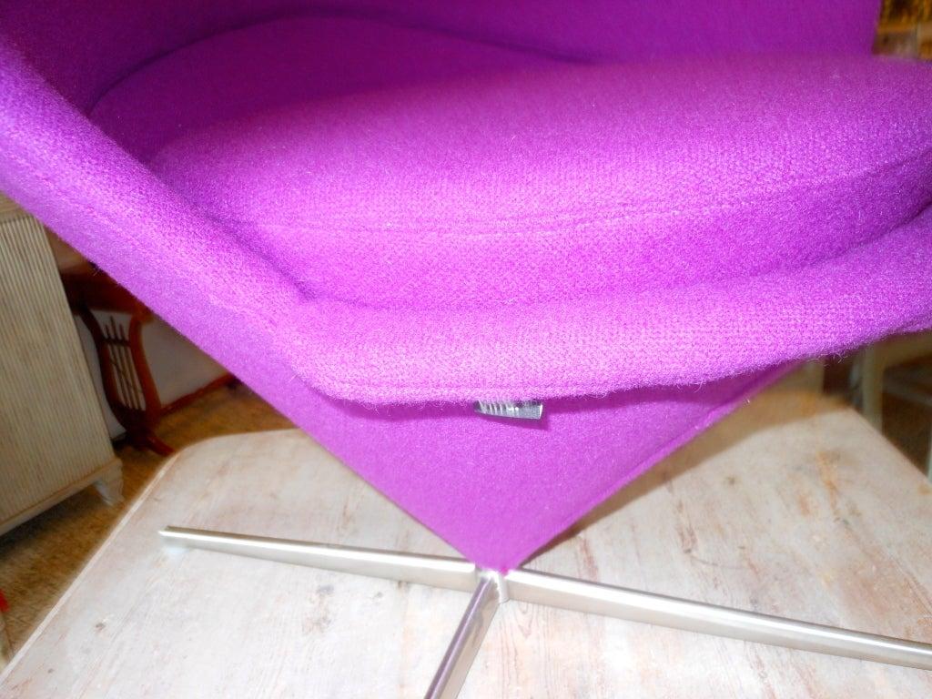 Danish Design Verner Panton Heart Cone Chair 7