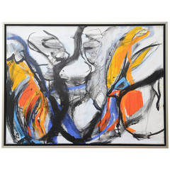 Danish Abstract Composition  by Hanne Hermann
