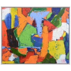 Danish Abstract Composition by Erling Leick