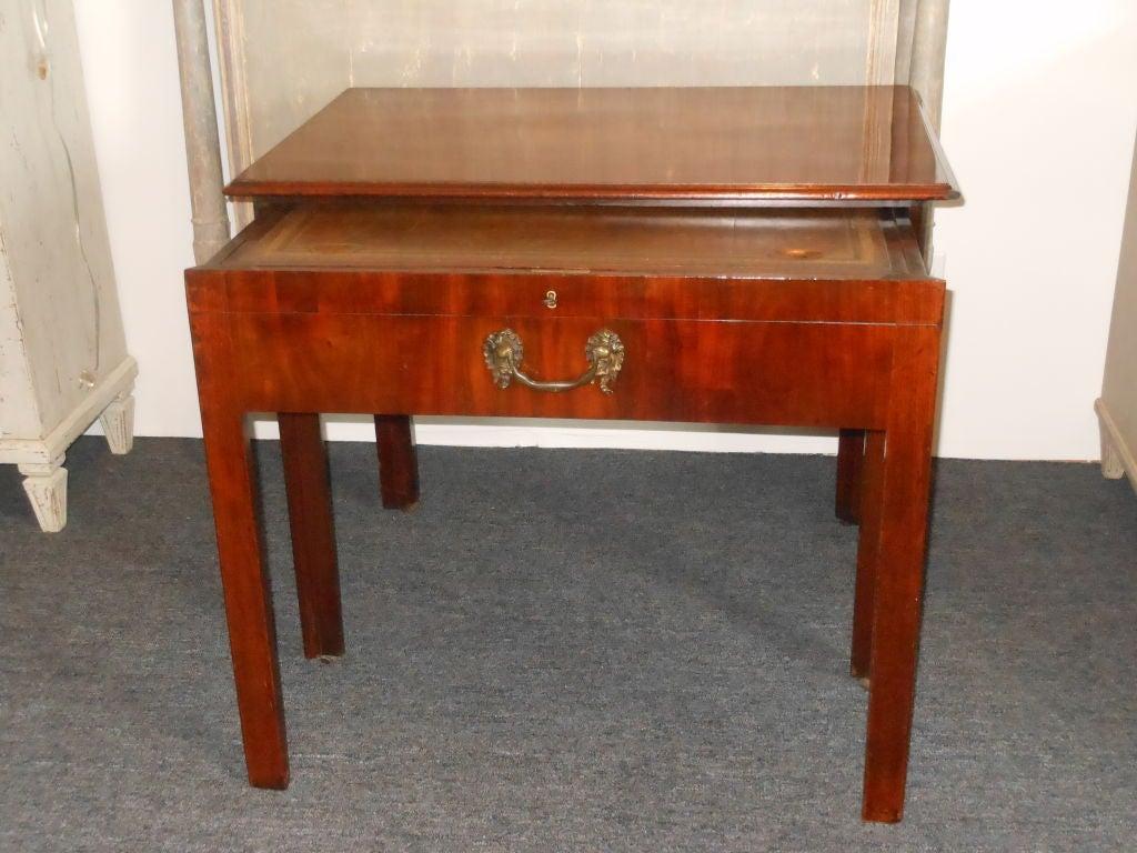 19th century unique english architecture freestanding for Unusual writing desks