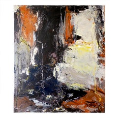 Danish Abstract Expressionist Oil Painting by John Hansen