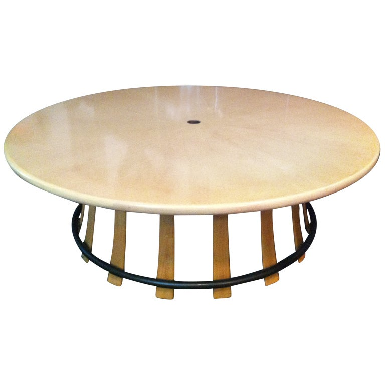 Worley Coffee Table: Edward Wormley Rare Toadstool Cocktail Table At 1stdibs