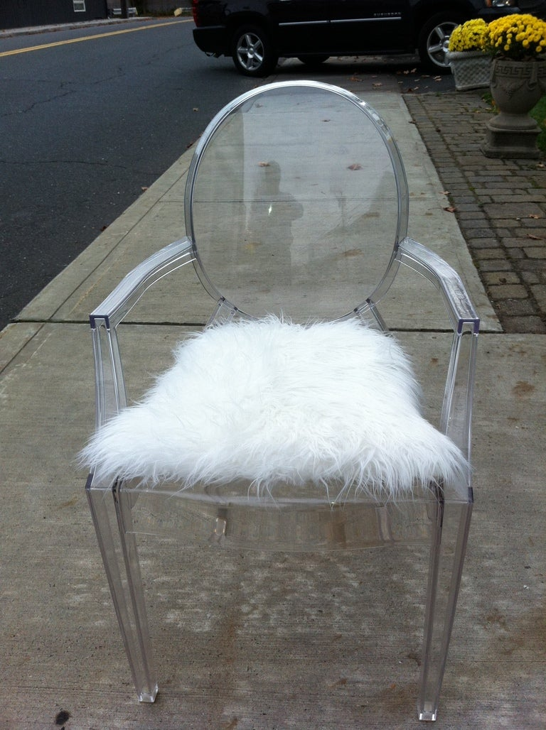 Pair Philippe Starck Louis Ghost Chairs At 1stdibs