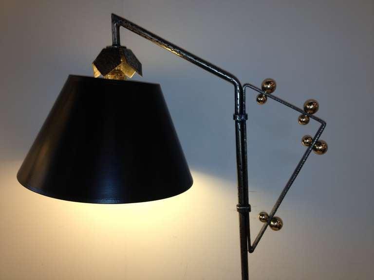 3 Light Art Deco Chandelier by Beardsley