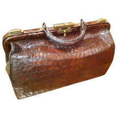 Alligator Doctors Bag