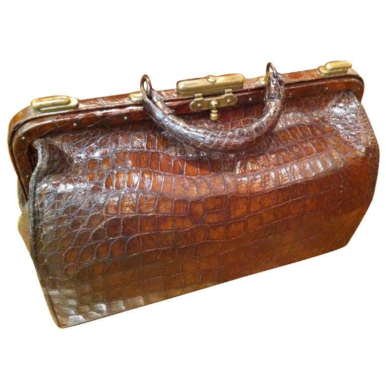 Alligator Doctors Bag