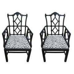 John Hutton For Donghia Set Of Six Chairs For Sale At 1stdibs