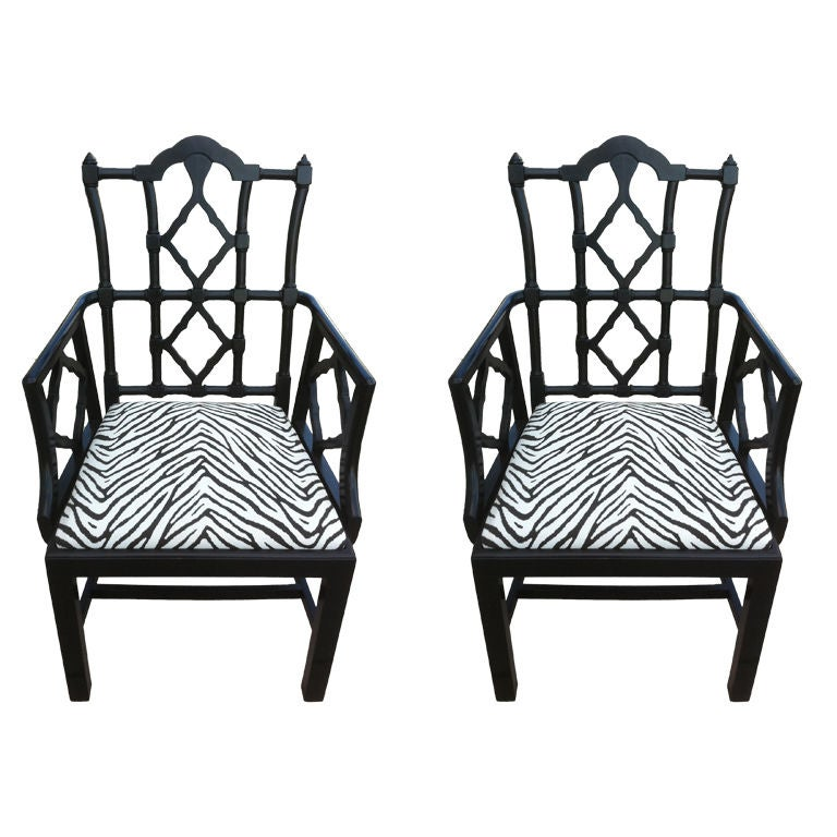 Pair of Frances Elkins Chairs