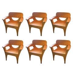 David Kawecki Set 6 Puzzle chairs